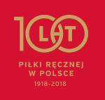 100 lat piłki ręcznej w Polsce logo