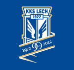 90 lat Lecha Poznań logo klubu