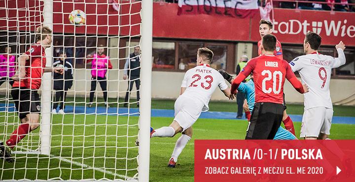 Galeria z meczu Austria - Polska w marcu 2019 r.