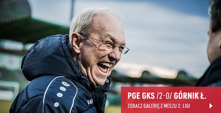 Galeria z meczu PGE GKS Bełchatów - Górnik Łęczna w marcu 2019 r.