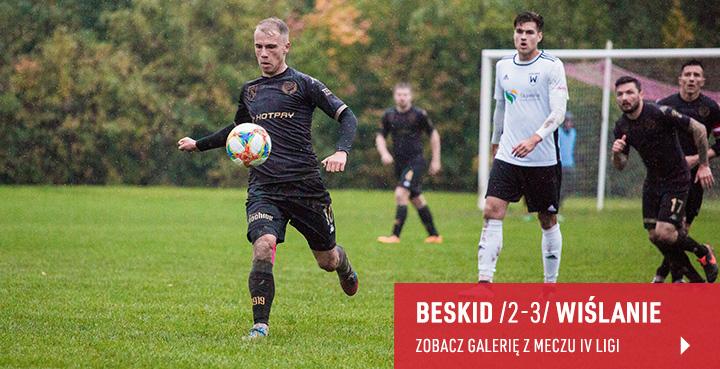 Galeria z meczu Beskid Andrychów - Wiślanie Jaśkowice 2019