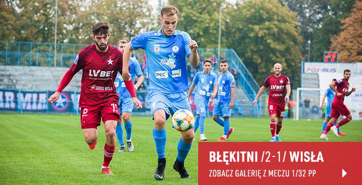 Galeria z meczu Błękitni Stargard - Wisła Kraków 2019