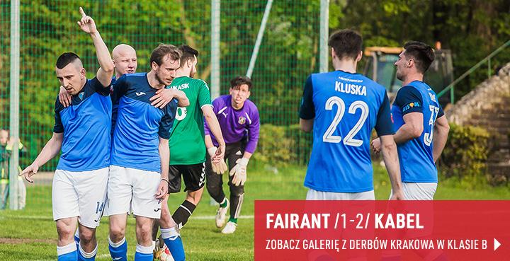 Galeria z meczu Fairant Kraków - Kabel Kraków w 2019 r.