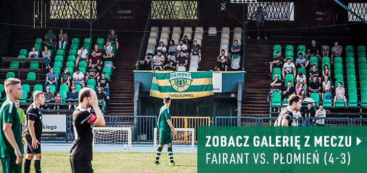 Galeria z meczu Fairant Kraków - Płomień Jerzmanowice 2018