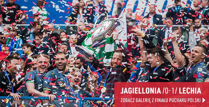 Galeria z meczu Finału Pucharu Polski Jagiellonia - Lechia Gdańsk 2019 r.
