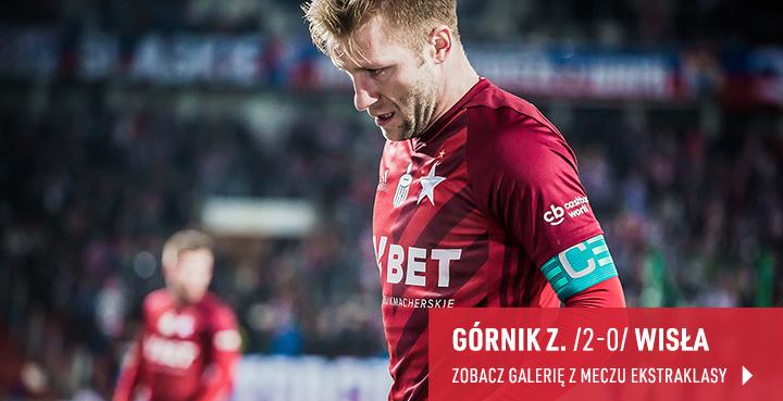 Galeria z meczu Górnik Zabrze - Wisła Kraków w lutym 2019 r.