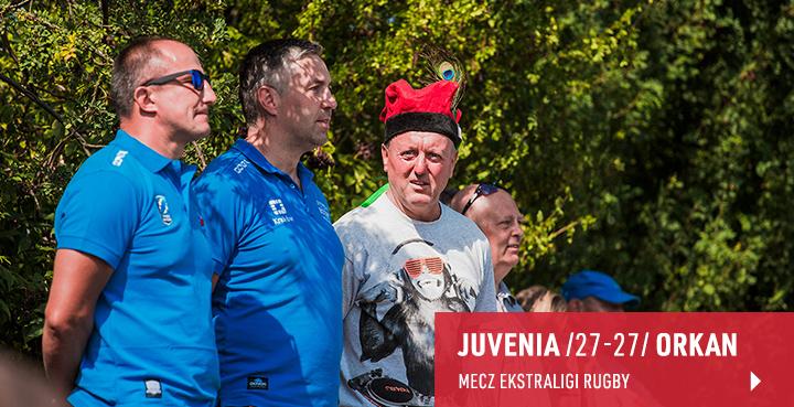 Galeria z meczu Juvenia Kraków - Orkan Sochaczew