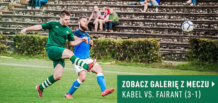 Galeria z meczu Kabel Kraków - Fairant Kraków 2018