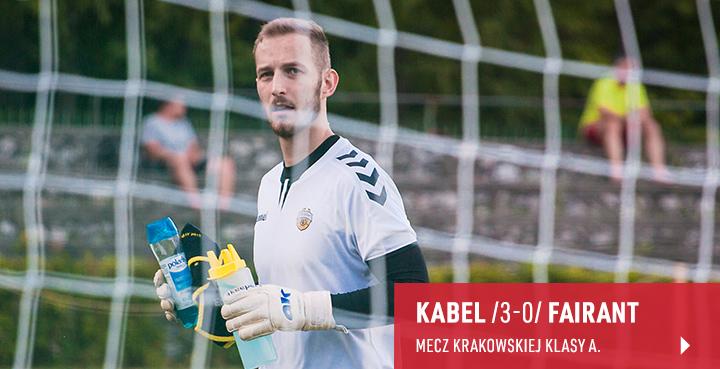 Galeria z meczu Kabel Kraków - Fairant Kraków 2020