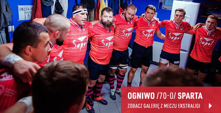 Galeria z meczu Ogniwo Sopot - Sparta Jarocin 2020