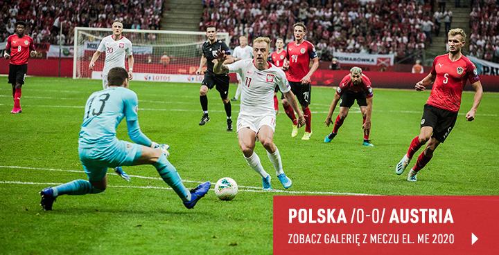 Galeria z meczu Polska-Austria 2019