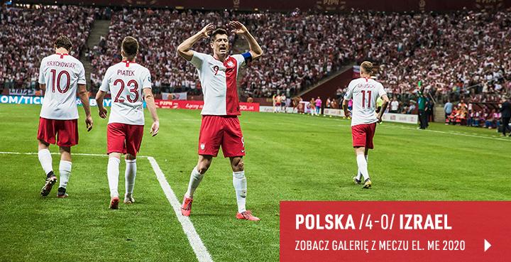 Galeria z meczu Polska-Izrael 2019 r.