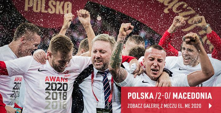 Galeria z meczu Polska - Macedonia Północna 2019