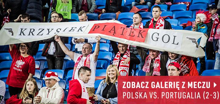 Galeria z meczu Polska-Portugalia 2018