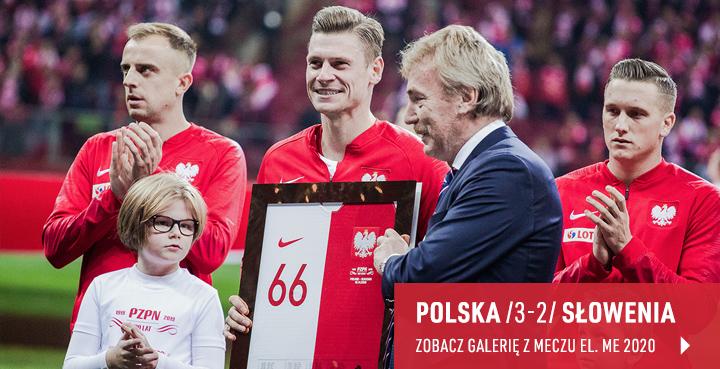 Galeria z meczu Polska - Słowenia 2019