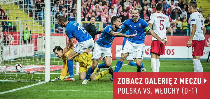 Galeria z meczu Polska-Włochy 2018