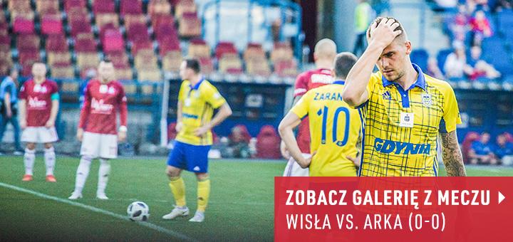 Galeria z meczu Wisła Kraków - Arka Gdynia 2018-19
