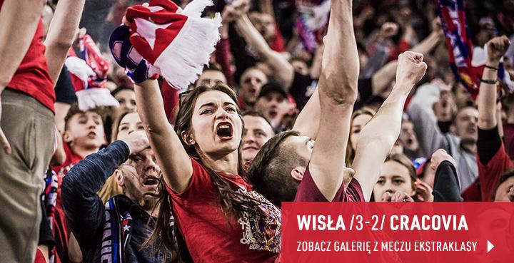 Galeria z meczu Wisła - Cracovia w marcu 2019 r.