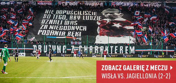 Galeria z meczu Wisła Kraków-Jagiellonia Białystok 2018