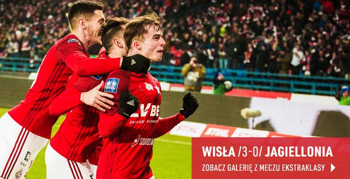 Galeria z meczu Wisła - Jagiellonia 2020