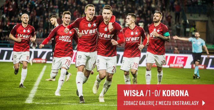 Galeria z meczu Wisła Kraków-Korona Kielce 2019 r.
