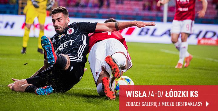 Galeria z meczu Wisła-ŁKS