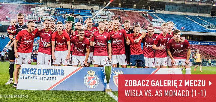 Galeria z meczu Wisła Kraków-AS Monaco 2018