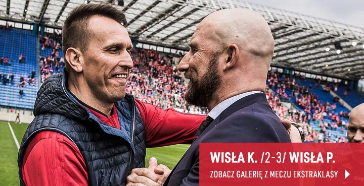 Galeria z meczu Ekstraklasy Wisła Kraków - Wisła Płock w kwietniu 2019 r.