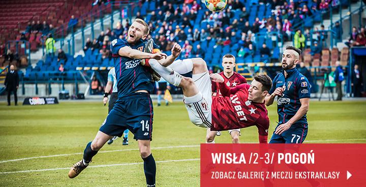Galeria z meczu Wisła Kraków - Pogoń Szczecin w marcu 2019 r.