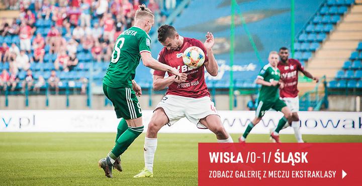 Galeria z meczu Wisła-Śląsk Wrocław