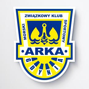 Gdyńska kotwica w barwach... Szwecji