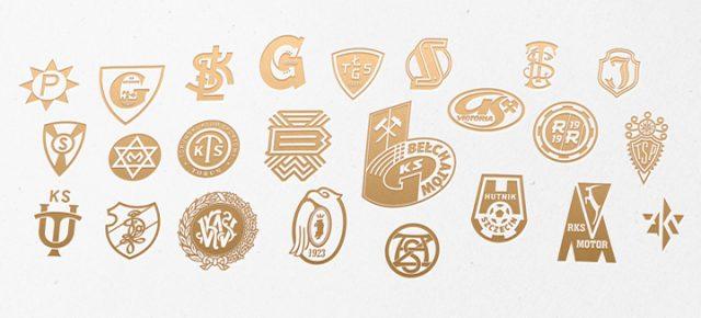 Litery jako symbole klubów sportowych