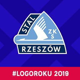 """Stal Rzeszów z tytułem """"Logo Roku 2019""""!"""