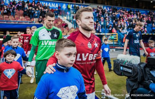 Wisła Kraków - Pogoń Szczecin przy R22, 2-3, runda wiosenna 2018-19