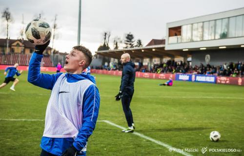 undefinedPuszcza Niepołomice - Miedź Legnica, 1/4 finału Pucharu Polski, zdjęcia Jakub Malicki