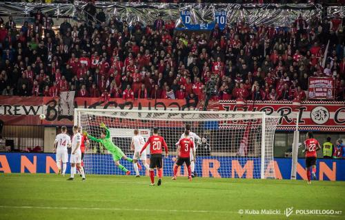 Austria - Polska, EURO 2020 Qualifications; Photo: © Jakub Malicki / polskielogo.net
