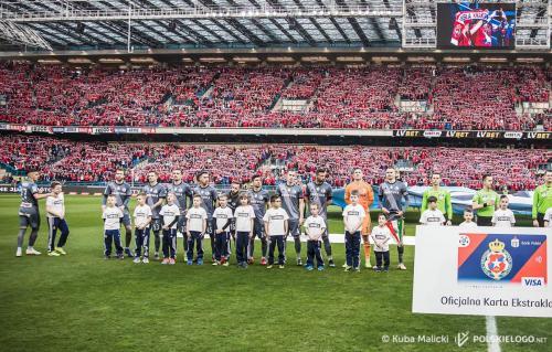 Wisła Kraków - Legia Warszawa, runda wiosenna Ekstraklasy; Foto ⓒ Kuba Malicki