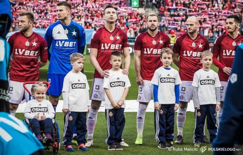 undefinedWisła Kraków - Legia Warszawa, runda wiosenna Ekstraklasy; Foto ⓒ Kuba Malicki