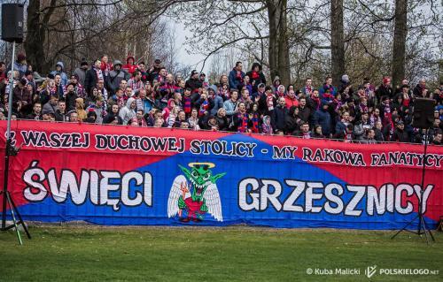 Raków Częstochowa - Lechia Gdańsk, 1/2 finału Pucharu Polski; Photo: © Jakub Malicki / polskielogo.net