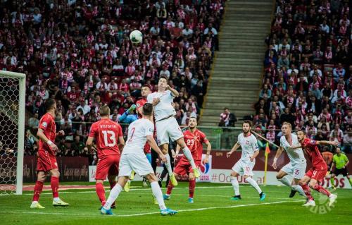 Polska - Macedonia, Eliminacje Euro 2020, foto: Jakub Malicki