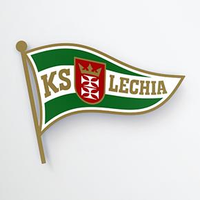 Biało-zielona flaga po retuszu