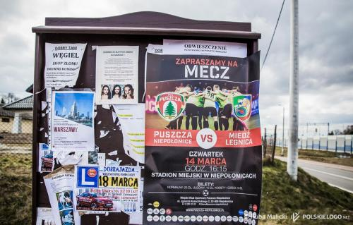 Puszcza Niepołomice - Miedź Legnica, 1/4 finału Pucharu Polski, zdjęcia Jakub Malicki